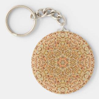 Småstenmönster Keychains, 3 stilar Rund Nyckelring