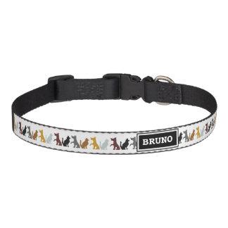 Smeknamnhundhalsband Hund Halsband