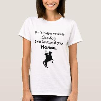 Smickra sig inte yourself cowboyen tshirts