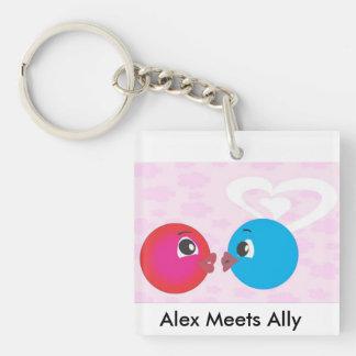 Smiley Alex och bundsförvant i romantisk Mood.