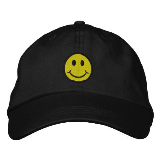 Smiley Broderad Keps