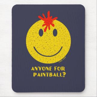 Smiley face: Någon för Paintball? Bekymrat Musmatta