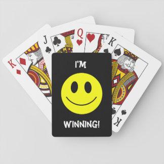 Smiley facekort spelkort