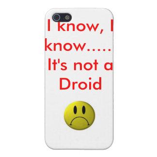 smiley-inte-ansikte vet jag, mig vet ......, Det ä iPhone 5 Fodral