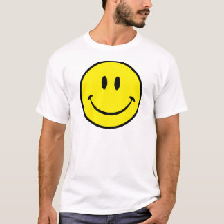 Smileylyckaansikte T Shirts