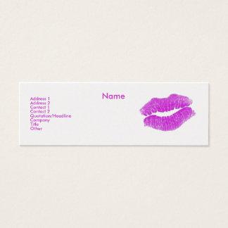 """""""Sminkkonstnären"""" profilerar jag kortet - Litet Visitkort"""