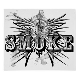 SmokeBlack (affisch) Poster