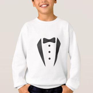 Smokingbröllopgåvor och stöttor för brudgum t-shirts