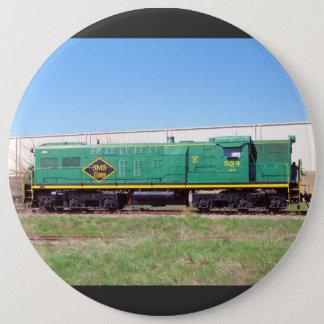 SMS-järnväg fodrar Baldwin AS616 #554 Jumbo Knapp Rund 15.2 Cm