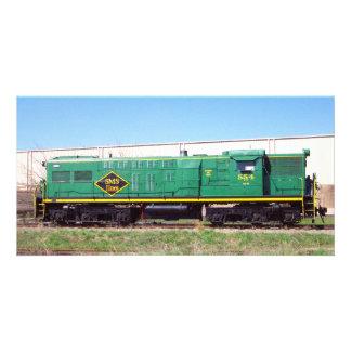 SMS-järnväg fodrar Baldwin AS616 nr. 554 Fotokort