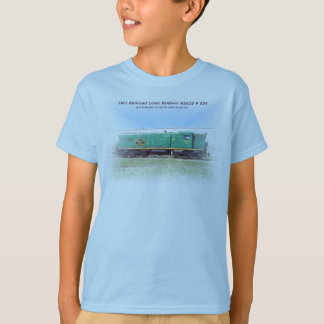 SMS-järnväg fodrar Baldwin AS616 nr. 554 T Shirt