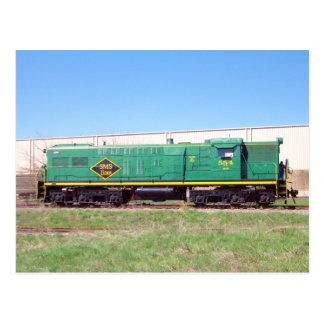 SMS-järnväg fodrar Baldwin AS616 nr. 554 Vykort