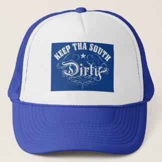 Smutsa ner den södra hatten truckerkeps
