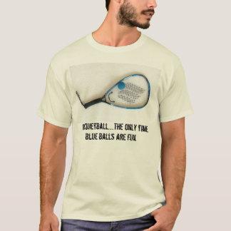 Smutsa ner den sport… racquetballen tshirts