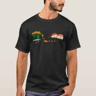 Smutsiga Uni roliga Sushi Tshirts