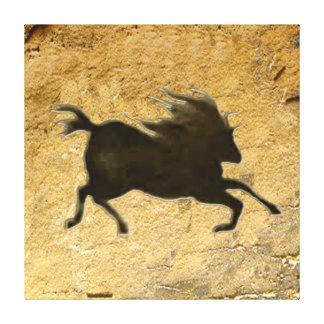 Snabb häst av Lascaux Canvastryck