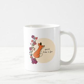 Snabb något liknande en räv kaffemugg