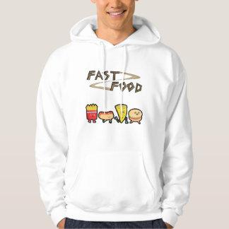 Snabbmat Sweatshirt Med Luva