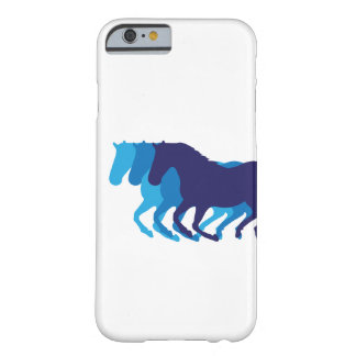 Snabbt växande hästar barely there iPhone 6 fodral