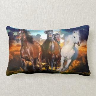 Snabbt växande hästar kudder dämpar lumbarkudde