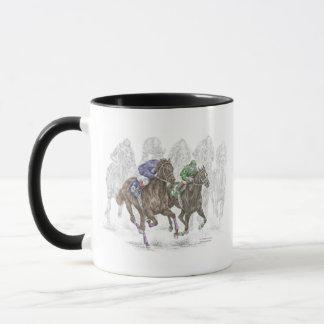 Snabbt växande tävlinghästar mugg