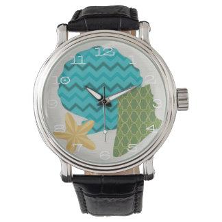 Snäckan mönstrar II Armbandsur