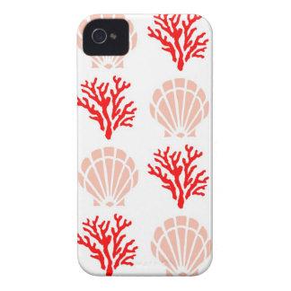 Snäckor och korall Case-Mate iPhone 4 skal