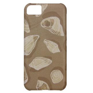 Snäckskal i Sand iPhone 5C Fodral