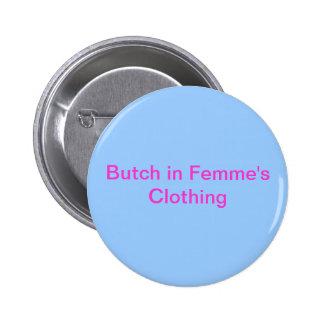 Snaggning, i Femmes att bekläda Standard Knapp Rund 5.7 Cm