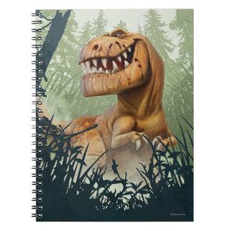 Snaggning i skog anteckningsbok