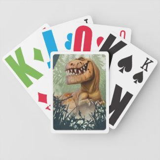 Snaggning i skog spelkort
