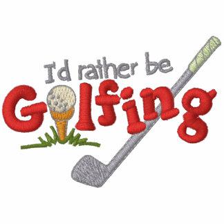 Snarlik Golf Broderad Hoodie
