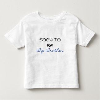 Snart att vara storebror t-shirts