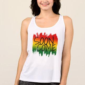 SNART balanserar nya KOMkvinnor genomköraretanktop T-shirt