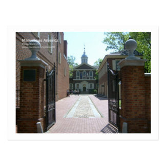 Snickare Hall, Philadelphia Vykort