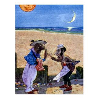 Snickaren och valrossen vykort