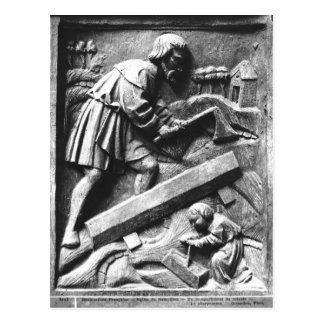 Snickaren, specificerar från en altarpiece vykort