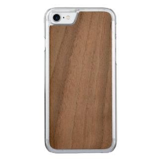 Sniden slank fodralvalnöt för iPhone 7 Carved iPhone 7 Skal
