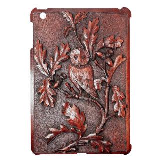 snidit wood fodral för ugglaipadkortkort iPad mini mobil skal