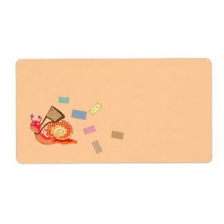 snigeln postar fraktsedel