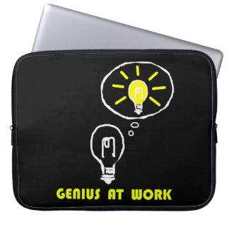 Snille på arbete laptop fodral