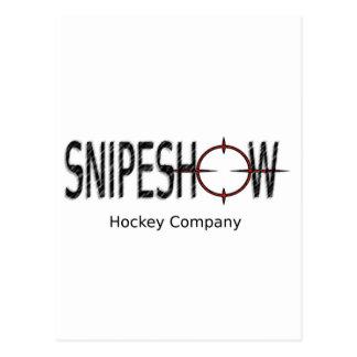 SnipeShow hockey Co. Vykort