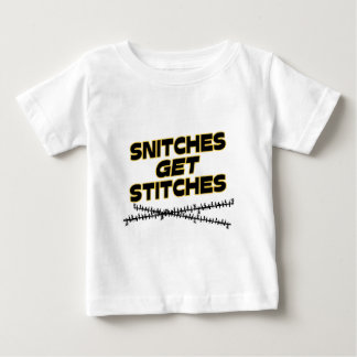 Snitches får syr tee shirts