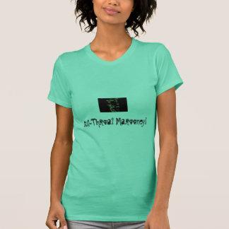 Snitt-Hals Marooney Tee Shirt