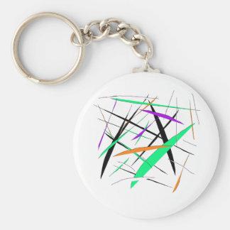 snitt rund nyckelring