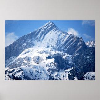 Snö bästa täckte Mountian Posters