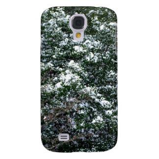 Snö på ett järnekträd galaxy s4 fodral