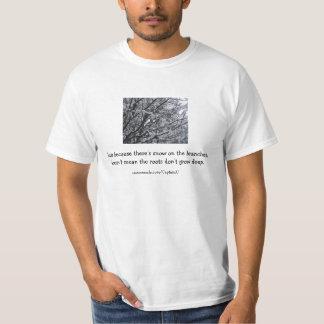 Snö på grenarna. t shirts