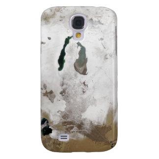 Snö runt om det Aral havet Galaxy S4 Fodral