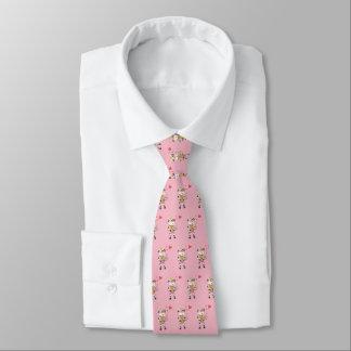 Snö sätta en klocka på den förälskade rosatien slips